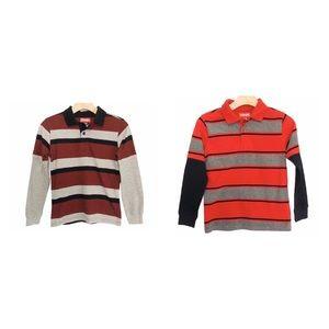 WRANGLER Long Sleeve Shirts Lot of 2 Size 8 Boys